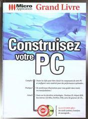 Grand livre construisez votre pc - Intérieur - Format classique
