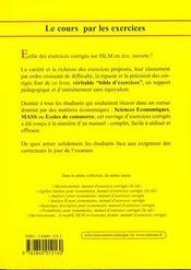 Macroeconomie : Le Modele Islm En Economie Ouvertemanuel D Exercices Corriges - 4ème de couverture - Format classique