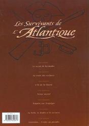 Les survivants de l'Atlantique t.7 ; Louisiane... l'enfer au paradis - 4ème de couverture - Format classique