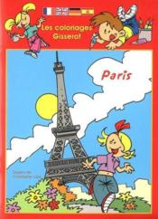 Les coloriages gisserot : paris - Couverture - Format classique