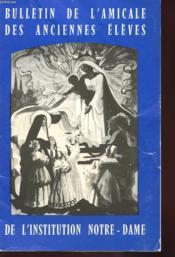 Bulletin De L'Amicale Des Anciens Eleves De L'Institution Notre-Dame - N°8 - Annee 75-76 - Couverture - Format classique