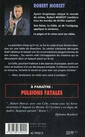 Operation Zombie - 4ème de couverture - Format classique