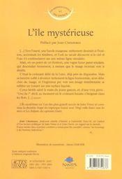 L'île mystérieuse - 4ème de couverture - Format classique