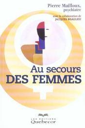 Au Secours Des Femmes - Intérieur - Format classique