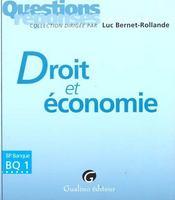 Qr droit et economie - Intérieur - Format classique