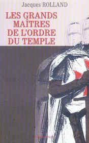 Les Grands Maitres De L'Ordre Du Temple - Intérieur - Format classique