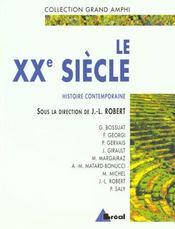 Le xxeme siecle - Intérieur - Format classique