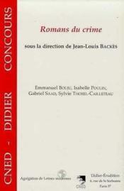 Romans Du Crime - Couverture - Format classique
