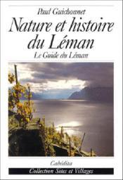 Nature Et Histoire Du Leman - Couverture - Format classique