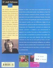 L'Education Du Chien - 4ème de couverture - Format classique