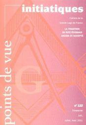 Revue Points De Vue Initiatiques N 122 - Intérieur - Format classique