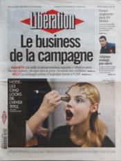 Liberation N°9589 du 10/03/2012 - Couverture - Format classique