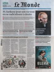 Monde (Le) N°20878 du 06/03/2012 - Couverture - Format classique