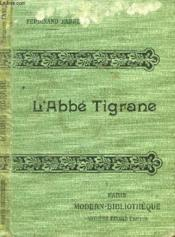 L'Abbe Tigrane. - Couverture - Format classique