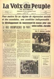 Voix Du Peuple De Touraine (La) N°1279 du 30/01/1966 - Couverture - Format classique