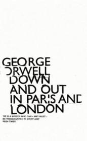 Vente  DOWN AND OUT IN PARIS AND LONDON  - George Orwell