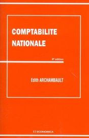 Vente  Comptabilite Nationale  - Edith Archambault