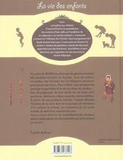Au temps de la préhistoire - 4ème de couverture - Format classique