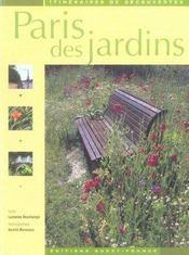 Paris des jardins - Intérieur - Format classique