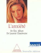 Anxiete (L') -Nne - Intérieur - Format classique