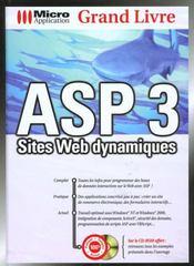Grand Livre Asp 3-Sites Web Dynamiques - Intérieur - Format classique