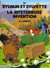 Sylvain et Sylvette t.36 ; la mystérieuse invention - Intérieur - Format classique