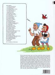 Sylvain et Sylvette t.36 ; la mystérieuse invention - 4ème de couverture - Format classique