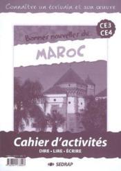 Cahier Bonnes Nouvelles Du Maroc - Couverture - Format classique