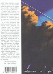 Deepsix - 4ème de couverture - Format classique