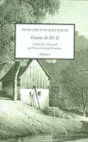 Grains De Ble Volume 2 - Intérieur - Format classique