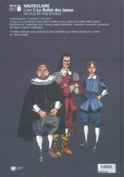 Le Reflet Des Lames - 4ème de couverture - Format classique
