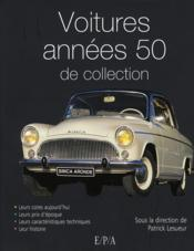 Les voitures de collection des années 50 - Couverture - Format classique