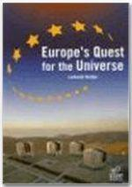 Europe's quest for universe - Couverture - Format classique