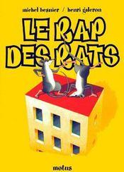 Le rap des rats - Couverture - Format classique