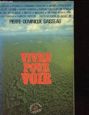 Vivre Pour Voir - Collection Vecu - Couverture - Format classique