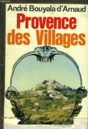 Provence Des Villages - Couverture - Format classique