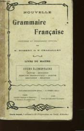 Nouvelle Grammaire Francaise - Cour Elementaire - Couverture - Format classique