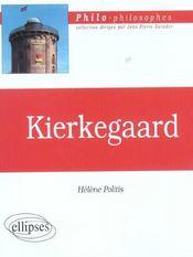 Kierkegaard - Intérieur - Format classique