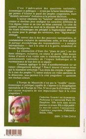 La Dechirure Yougoslave ; Questions Pour L'Europe - 4ème de couverture - Format classique