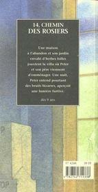 14, chemin des rosiers - 4ème de couverture - Format classique