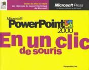 PowerPoint 2000 - Couverture - Format classique
