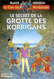Le secret de la grotte des korrigans - Intérieur - Format classique