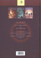 Nemesis T.1 A T.3 - 4ème de couverture - Format classique