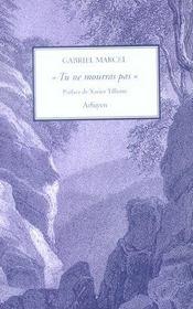 Tu Ne Mourras Pas - Intérieur - Format classique