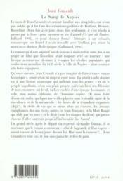 Le Sang De Naples - 4ème de couverture - Format classique