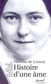 Histoire d'une âme - Couverture - Format classique