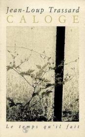 Caloge - Couverture - Format classique