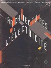 Architectures De L'Electricite - Couverture - Format classique