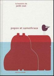 Popov et Samothrace - Couverture - Format classique