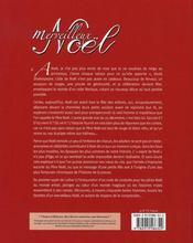 Merveilleux Noel - 4ème de couverture - Format classique